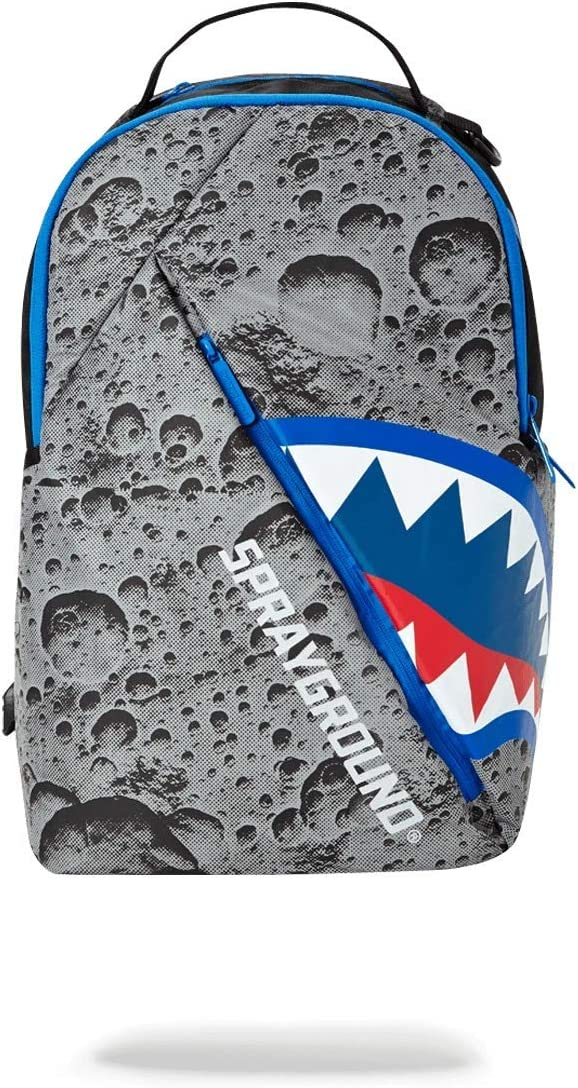 SPRAYGROUND BACKPACK ANGLED REFLECTIVE SHARK (SPACE SHOT)