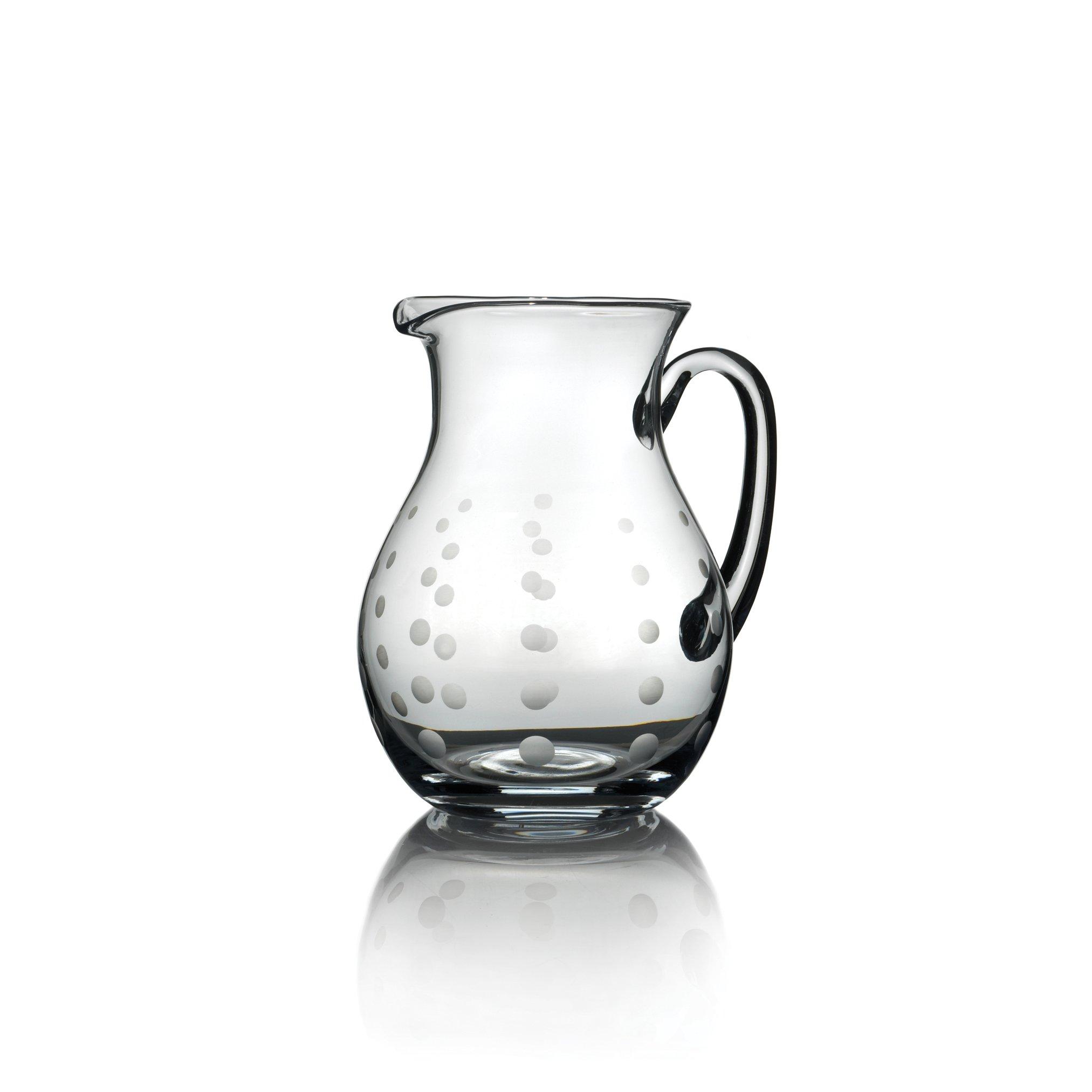 Mikasa Cheers Glass Beverage Pitcher, 3.25-Quart