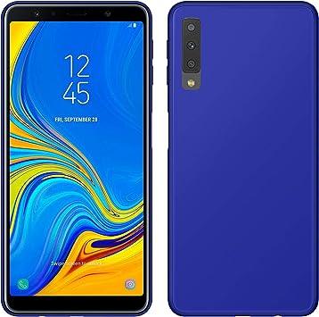 TBOC Funda de Gel TPU Azul para Samsung Galaxy A7 (2018) A750F ...