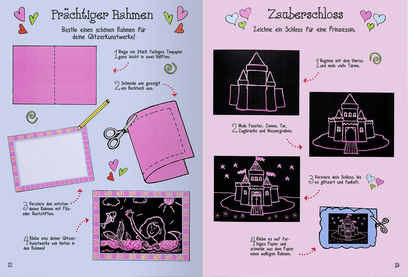 Mein großes Kritzkratz-Buch Glitzer: Amazon.de: Ute Löwenberg: Bücher