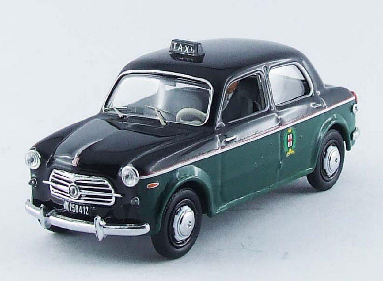Rio RI4408P Fiat 1100 Taxi Milano 1956 W//Driver 1:43 MODELLINO Die Cast Model Compatibile con
