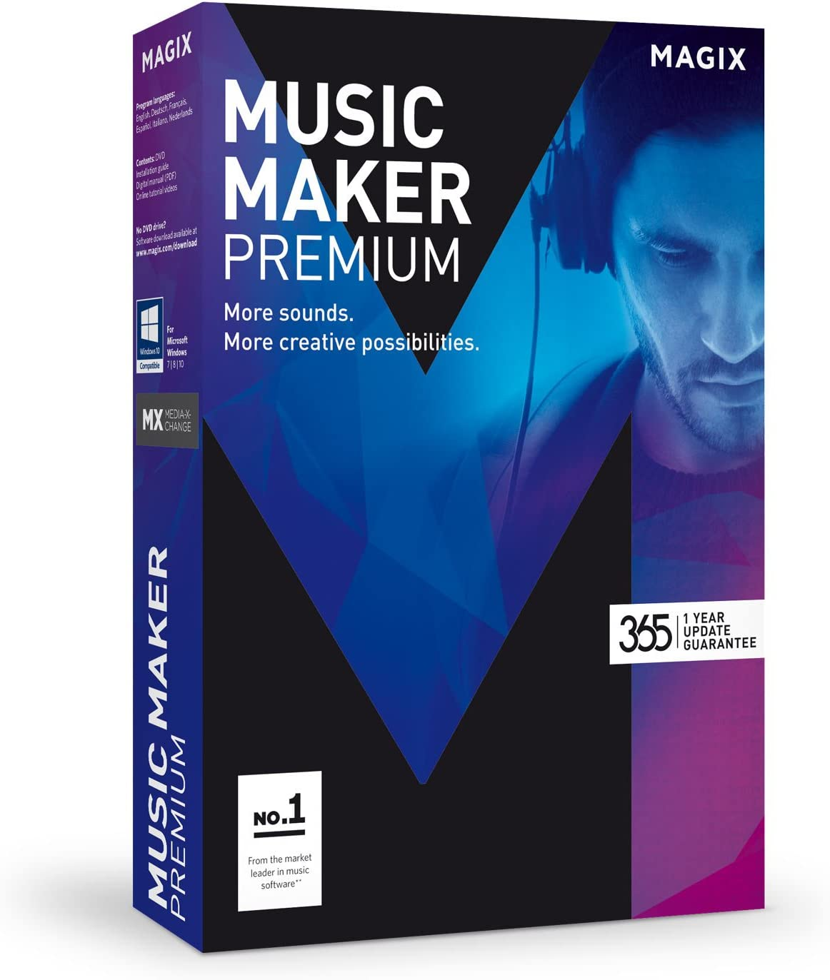 MAGIX Music Maker – 2017 Premium Edition – Music program: Record, edit and remix your own music.