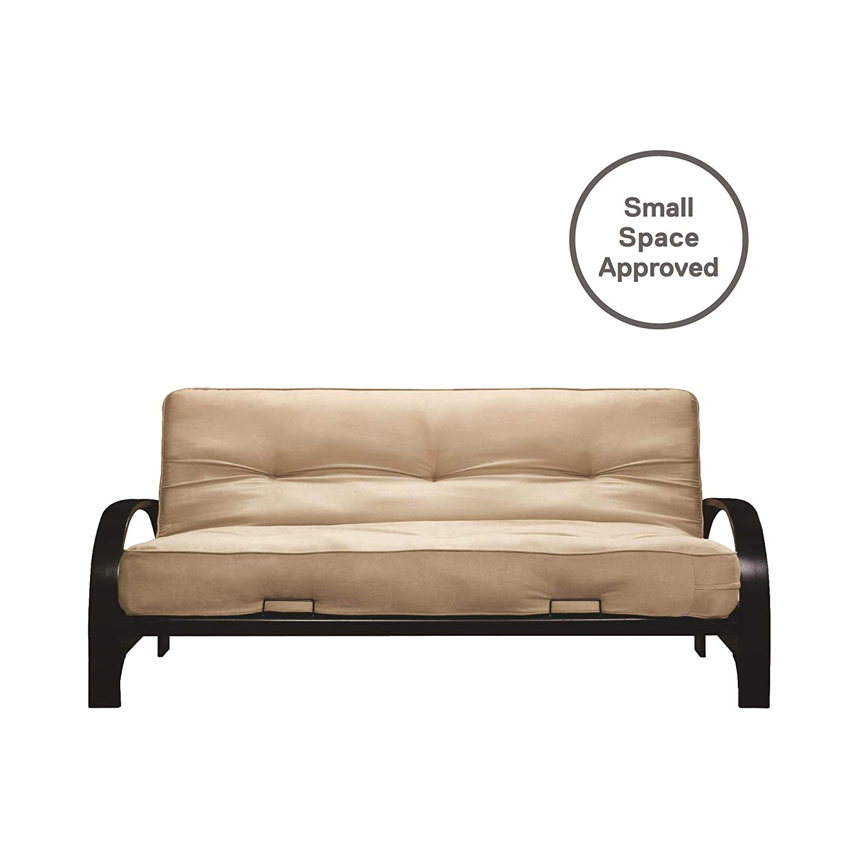 Amazon.com: DHP Premium marco de Madrid futon con colchón de ...