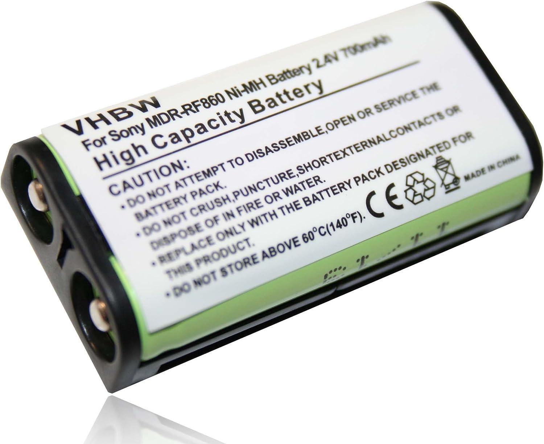 BATERÍA NI-MH 700mAh 2.4V Compatible con Sony sustituye BP-HP550 ...