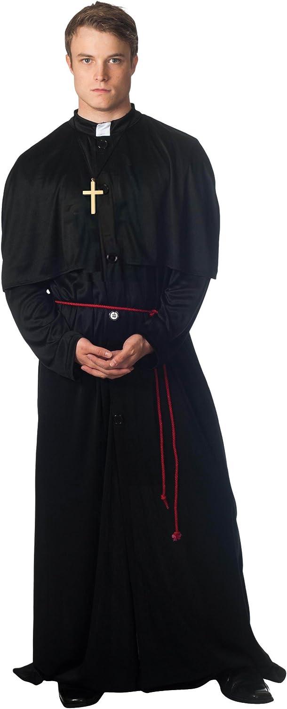Christy`s 996197 - Disfraz de cura para hombre (adulto): Amazon.es ...