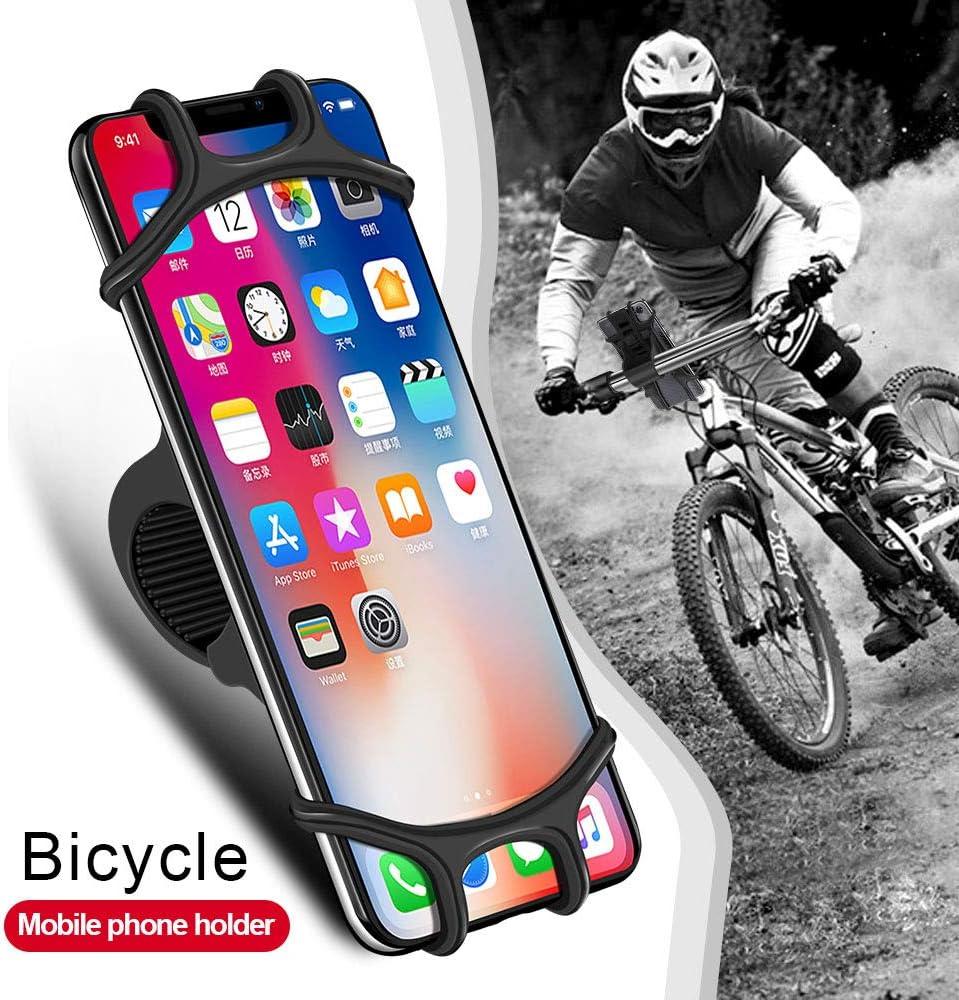 Soporte M/óvil Bicicleta Samsung iAmotus Soporte M/óvil Silicona Moto para iPhone 11 Pro Max//11 Pro//11//XS//XS MAX Xiaomi Huawei y 4.5-6.5 Phones
