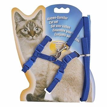 iiniim mascotas arnés gato Harness correa cuerda collar gato ...