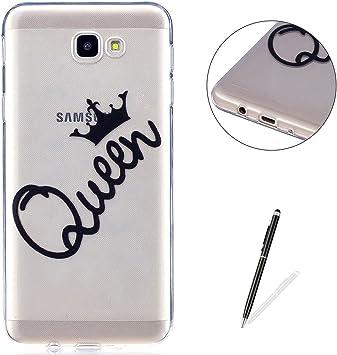 KaseHom Compatible For Samsung Galaxy J5 Prime Funda Claro de ...