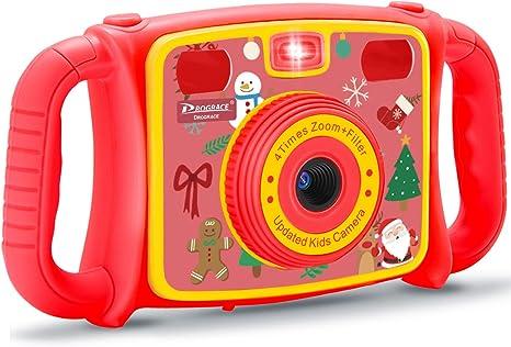 Prograce - Cámara de vídeo Digital para niños y niñas, Regalo de ...