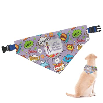 Amazon com : RNK Shops What is Your Superpower Dog Bandana