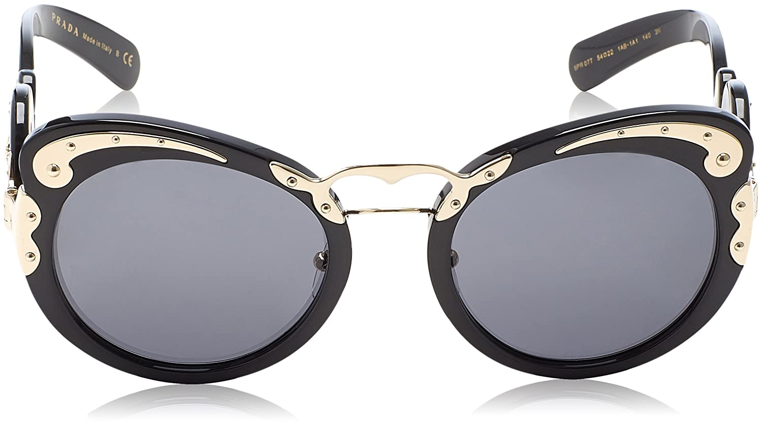 a0e2857721 order sunglasses prada pr 7 ts 1ab1a1 black at amazon womens clothing store  ec7ef 7ceb3