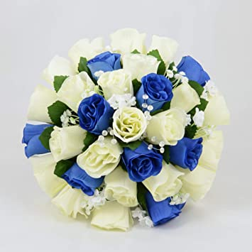Artificial Wedding Flowers Hand Made By Petals Polly Brides Posy
