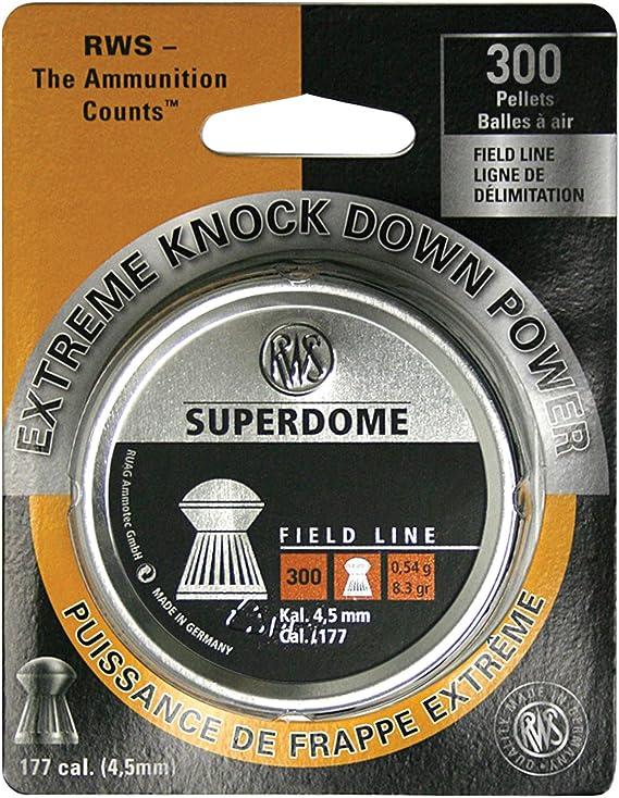 Umarex USA 2317406 .177 Caliber per 300 RWS Superdome Field Line Pellets