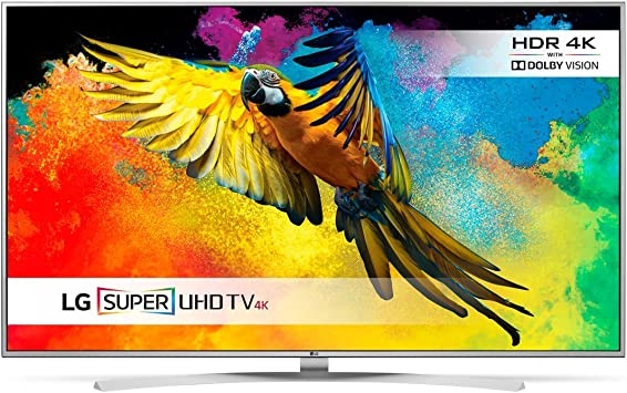 55LB630V 55 Inch Smart LED A+ Energy Rated Full HD Television in Silver, [Importado de UK]: Amazon.es: Electrónica