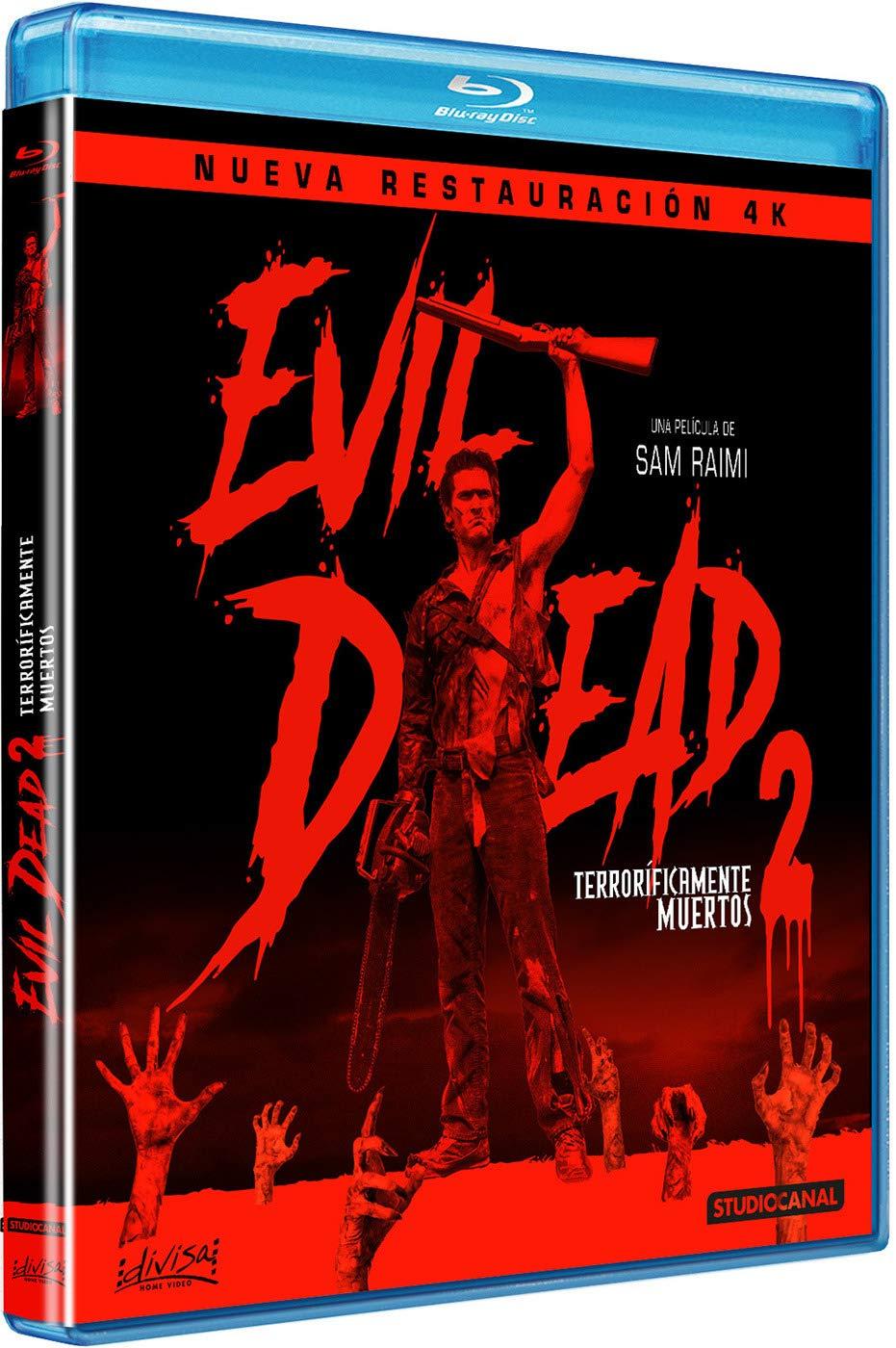 Evil dead 2 (terroríficamente muertos) - BD [Blu-ray]: Amazon.es: Bruce Campbell, Sarah Berry, Dan Hicks, Kassie Wesley DePaiva, Sam Raimi, Bruce Campbell, Sarah Berry: Cine y Series TV