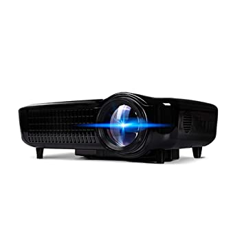 LIANGJING Proyector Inicio WiFi inalámbrico 1080P Home Theater ...