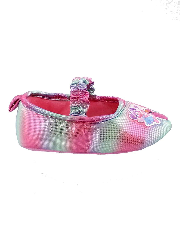 Sesame Street Toddler Girls Slippers Elmo Abby Cadabby Kids Ballerina Non-Slip Grip House Shoes manufacturer