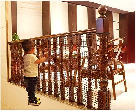 Red de seguridad para niños BalcóRed de protección Red de seguridad general, balcón exterior for niños, Red de Protección bebés interiores, juguetes animales seguros terraza escalera, red de equipo de: Amazon.es: Hogar