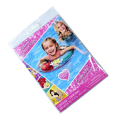 Princess Swim Time Fun Inflatable Kids Swim Ring: Toys & Games