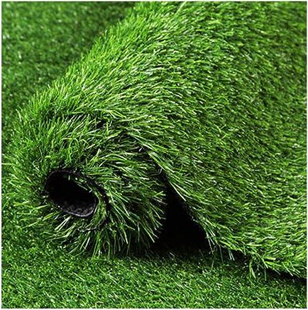 YNGJUEN Césped Artificial césped sintético césped Suave y cómodo jardín jardín Patio decoración Pila Altura 25 mm (Size : 2x4m): Amazon.es: Hogar