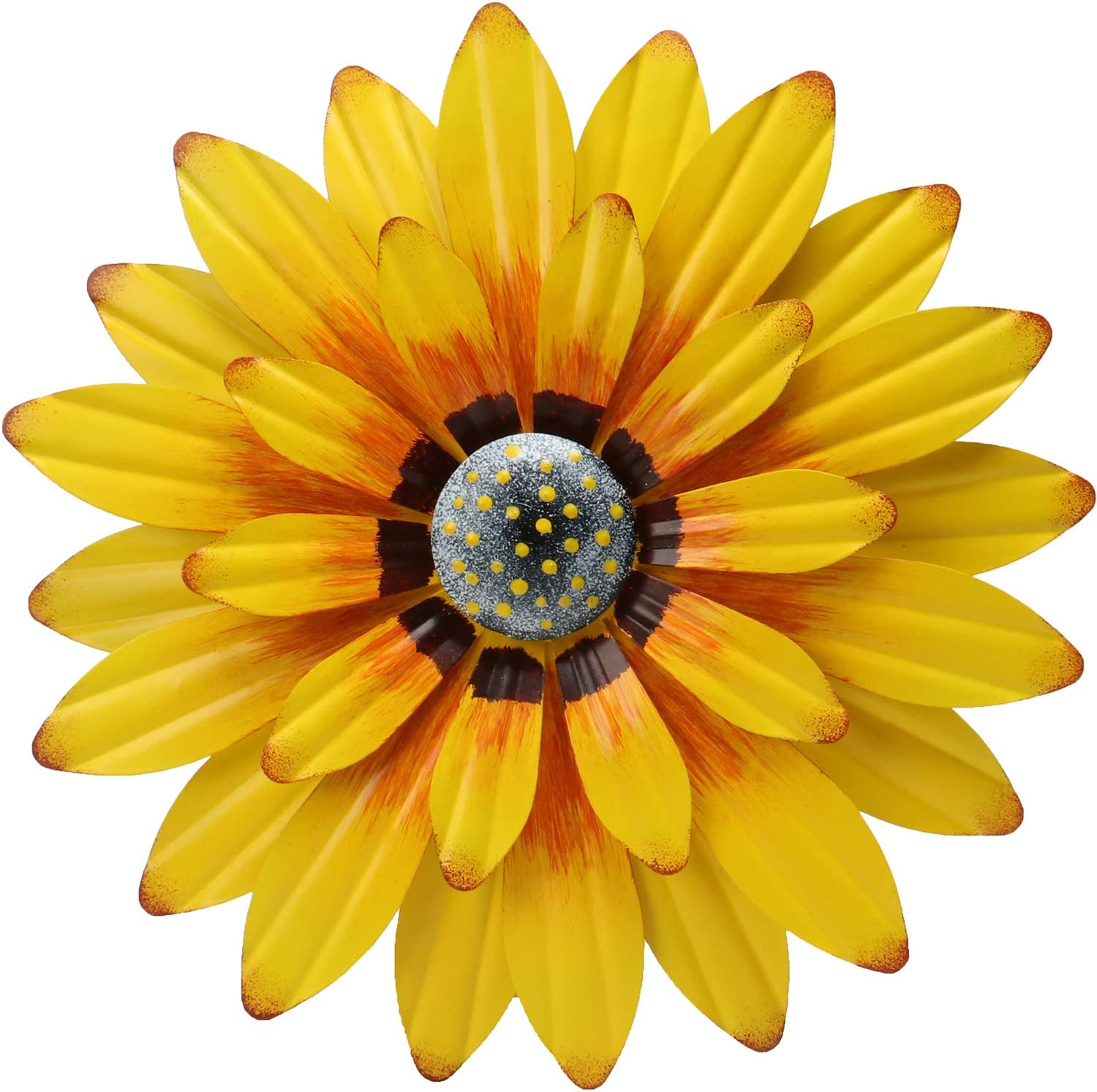 ANYUETE Metal Sunflower Wall Decor 12
