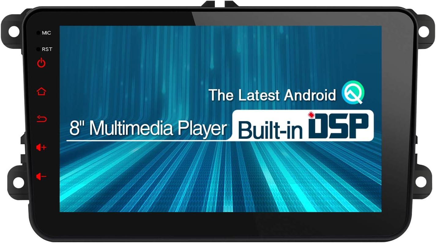 XTRONS Android 8.1 coche estéreo Octa Core 7 pulgadas HD digital Multitáctil unidad de cabeza de pantalla Bluetooth coche Radio Multimedia Player Wifi ...