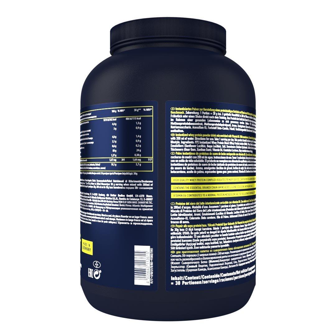 Multipower 100% Whey Protein Banana Mango - 900 gr: Amazon.es: Salud y cuidado personal