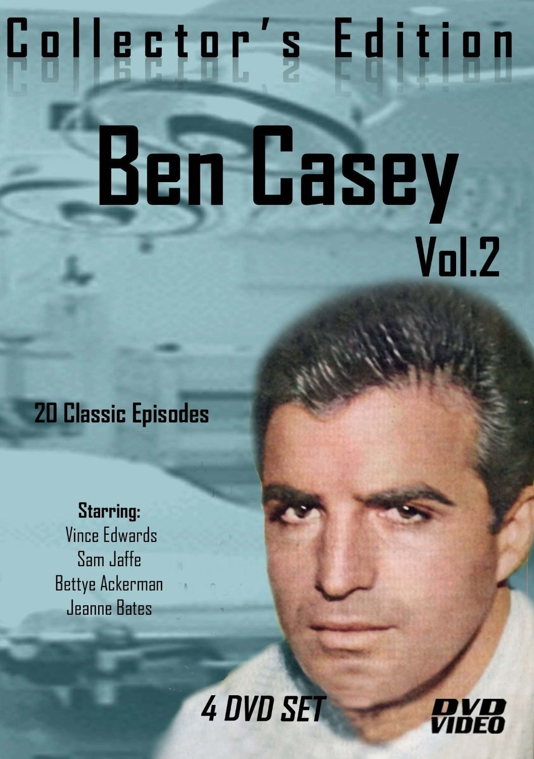 Ben Casey-TV Series- 20 Classic Episodes -4 Disc Set-Volume TWO