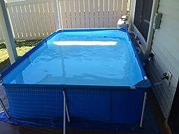 Amazon.com : Steel Pro Deluxe Splash Frame Pool : Patio, Lawn & Garden