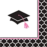 Package of 36-2 Ply Glamorous Grad Luncheon Napkins
