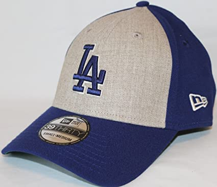 big sale baeca 204f1 Image Unavailable. Image not available for. Color  New Era Los Angeles  Dodgers MLB 39THIRTY Team Fronted Classic Fitted Hat