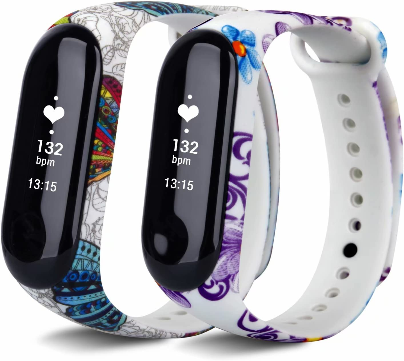 VAN-LUCKY Mi Band 3 /415CM-22CM Colourful Replacement for XIAOMI Band 3 /4Smart Watch Accessories(No Tracker)