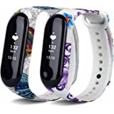 VAN-LUCKY Mi Band3 15CM-22CM Colourful Replacement for XIAOMI Band 3 Smart Watch Accessories(No Tracker)