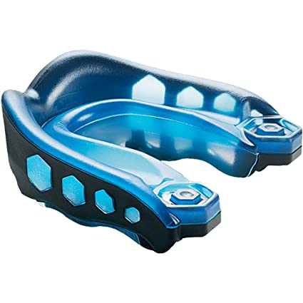 Amazon.com  Shock Doctor Youth Gel Max Strapped Mouthguard  Sports ... 2021dd3ce7e3