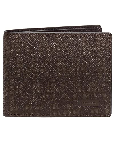 e1f0488225056 MICHAEL Michael Kors Mens Jet Set Slim Billfold Wallet (Brown) at Amazon  Men s Clothing store