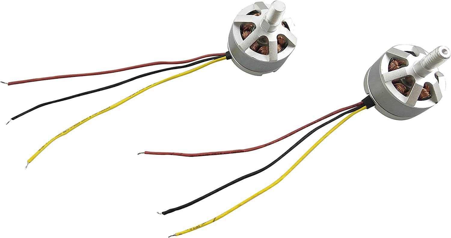 Fytoo Forward and Reversing Motor for MJX B2W Bugs 2 D80 F200SE Quadcopter Backup Parts Brushless Motors Model Aircraft Accessories 2pcs Motor