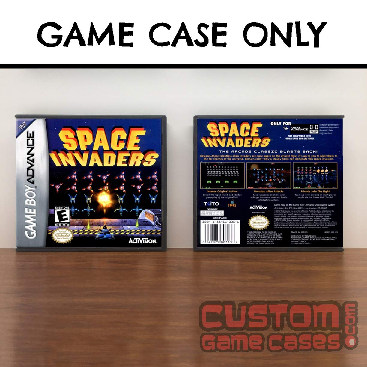 Amazon.com: Gameboy Advance Space Invaders - Case: Handmade