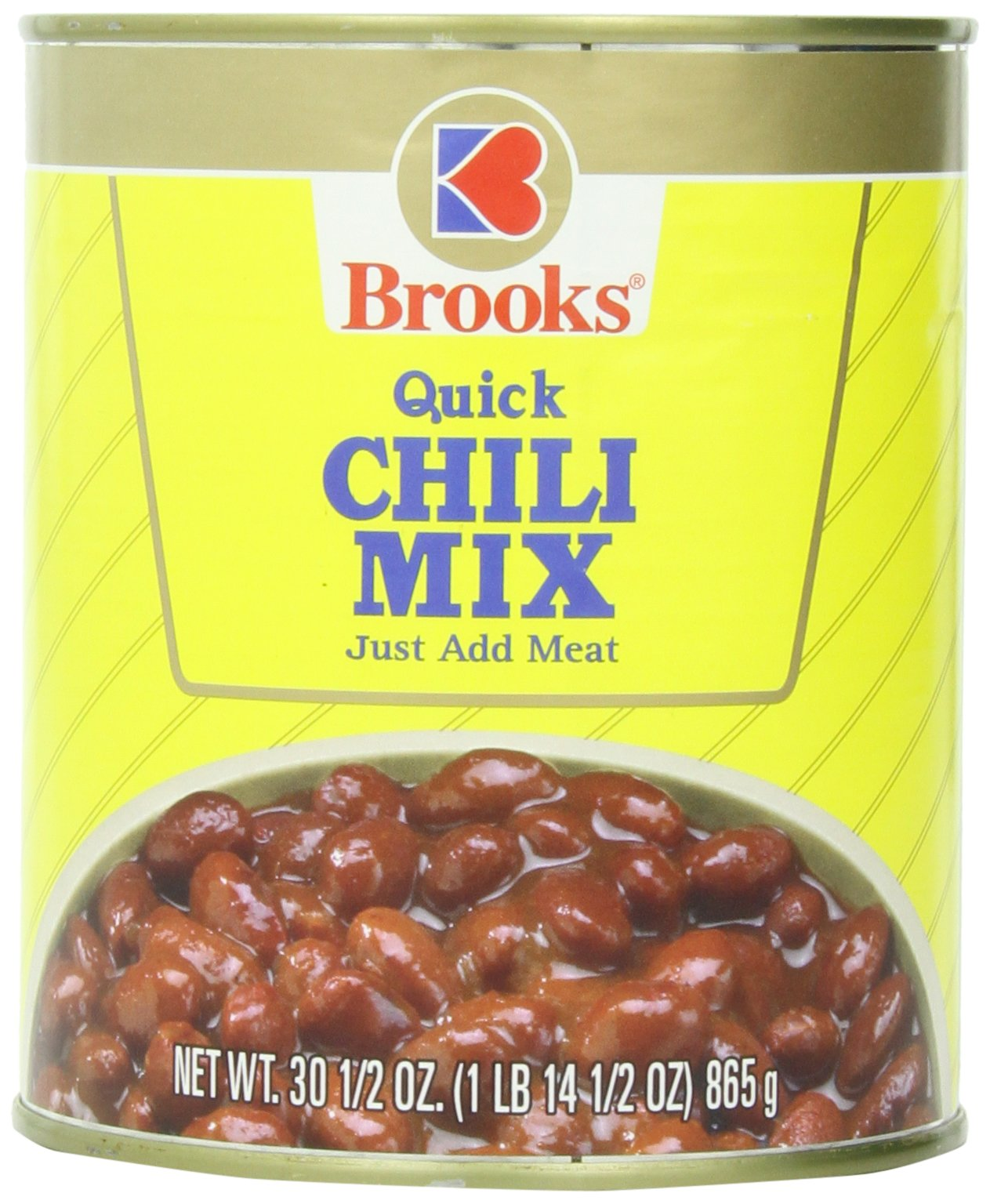 Brooks Chili Mix, 30.5 Ounce (Pack of 6)