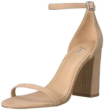 7dde319a9d48 Amazon.com  The Fix Women s Gracie Block Heel Strappy Sandal Heeled ...