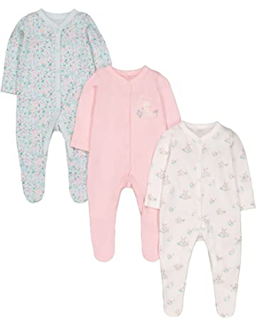 Useful Baby Girls Nexr Footless Sleepsuit 3-6 Keep You Fit All The Time Baby & Toddler Clothing