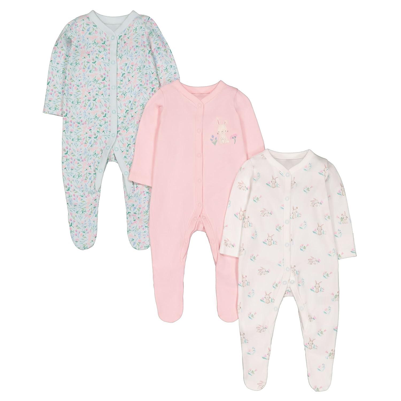 Mothercare Baby-Mädchen Schlafstrampler QB076