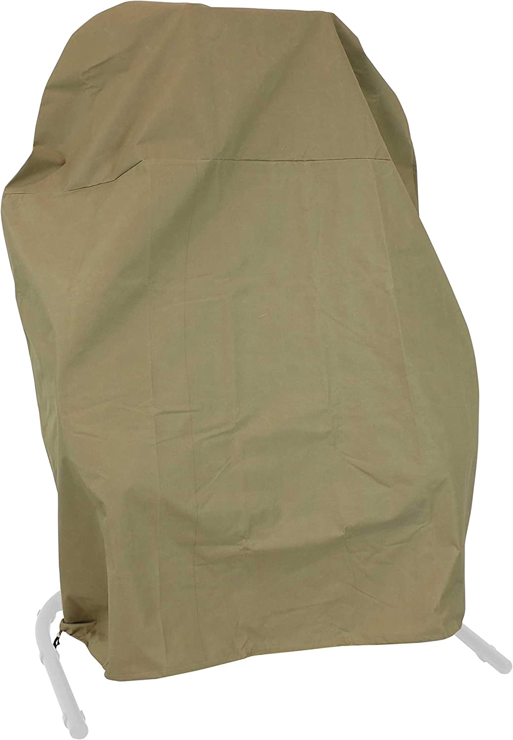 Sunnydaze Loveseat Egg Chair Outdoor Furniture Cover - 600D Oxford Weather-Resistant Protective Cover for Chair - Khaki - Great for Winter Protection