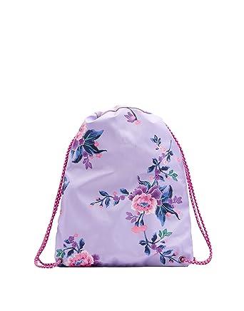 b05b01f86fce Joules Rubber Drawstring Bag - L Drawstring Bag - Lilac Chinoise Floral