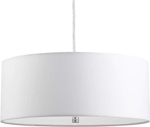 15″ Modern 3-Light Drum Pendant Light