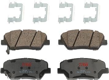 Pro Stop Ceramic Brake Pads Front and Rear For 2007 2008 2009 Hyundai Santa Fe