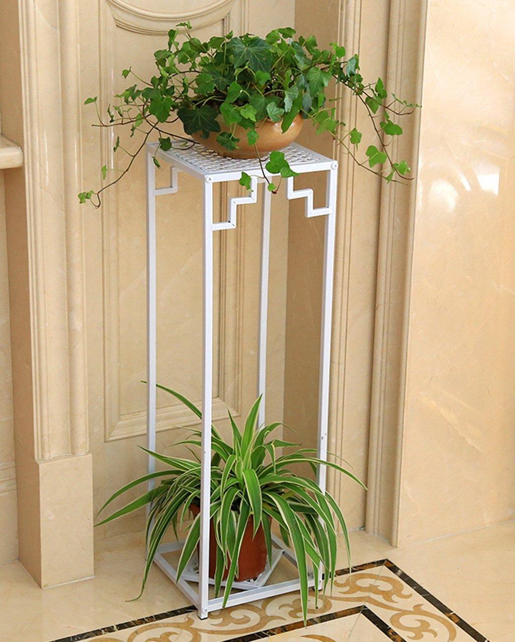 ZENGAI フラワーポット棚、フラワーラック、植物スタンドアイアンフラワーフレームフロアスタイルのマルチレイヤーポット屋内と屋外ハンギング蘭の棚 フラワースタンド (色 : B, サイズ さいず : 99.5*28cm) B07B6VKH4K 99.5*28cm|B B 99.5*28cm