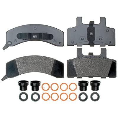 ACDelco 17D369MH Professional Semi-Metallic Front Disc Brake Pad Set: Automotive