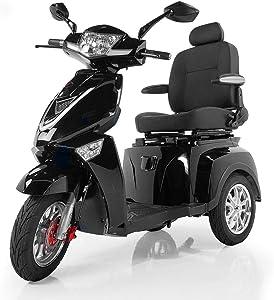 Veloce-Long Range, Lithium Mobility Scooter, New for Summer 2020~! (Black)