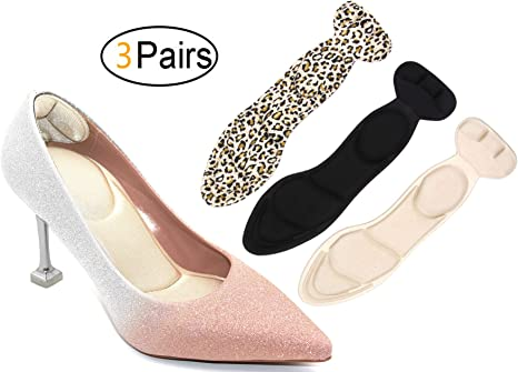 Foot Care Shoe Pads Insert Liner Cushion Cotton Insoles Support Grip Protector