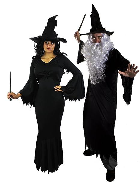 ILOVEFANCYDRESS - Costumi in maschera per coppia per feste di Halloween eb9c625444a3